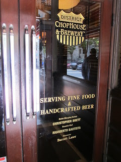 Chophouse welcome