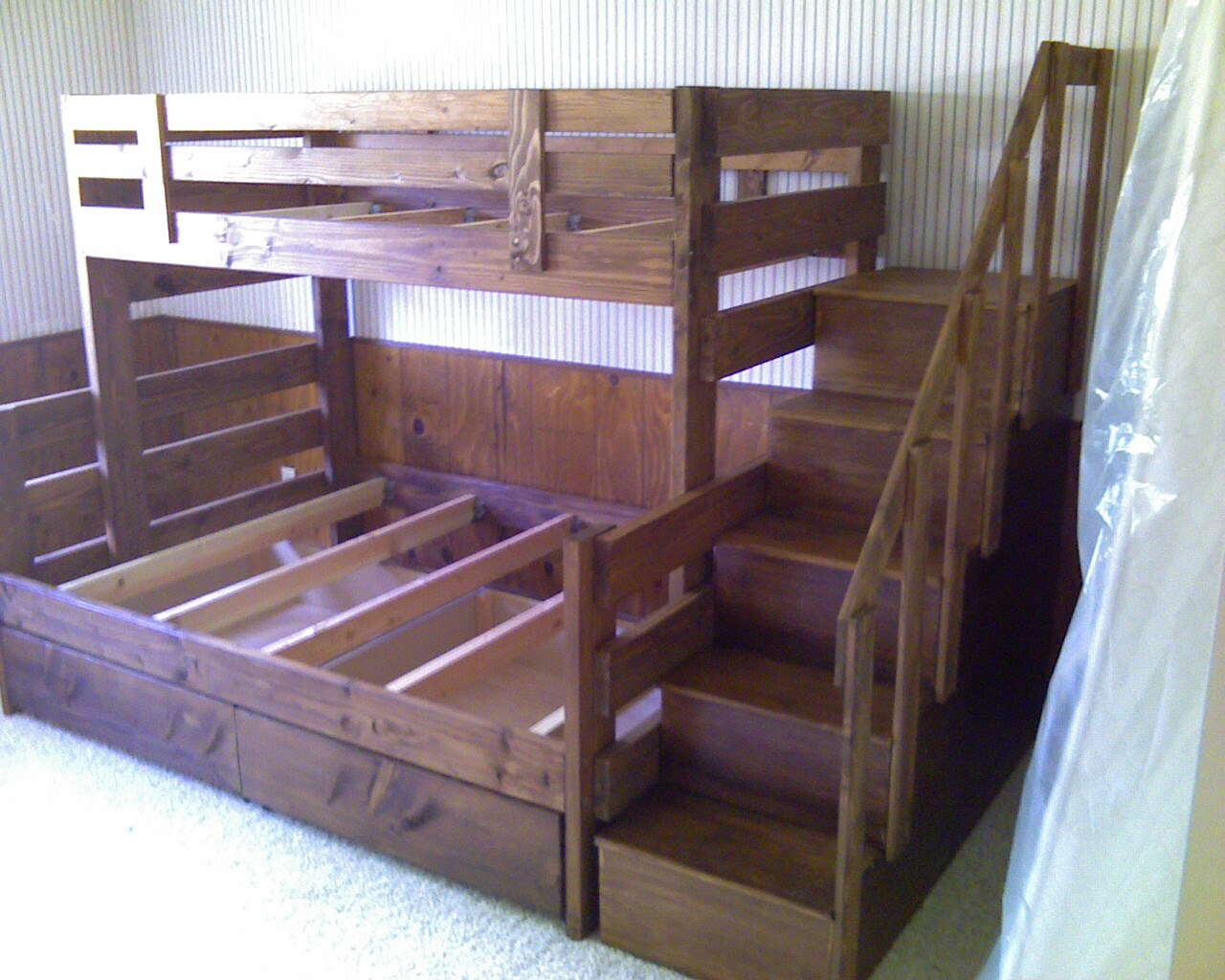 Bunk Beds Diy With Stairs For