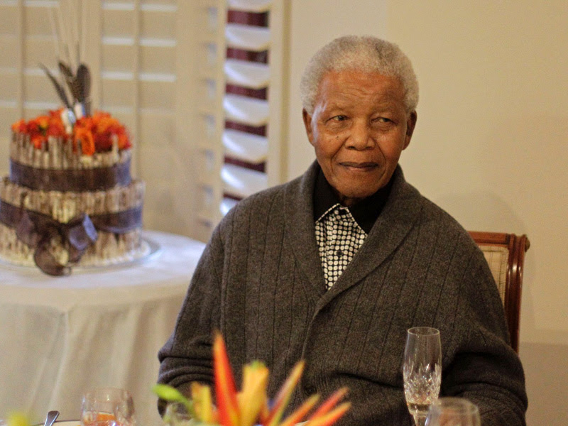 One of last shot of Mandela