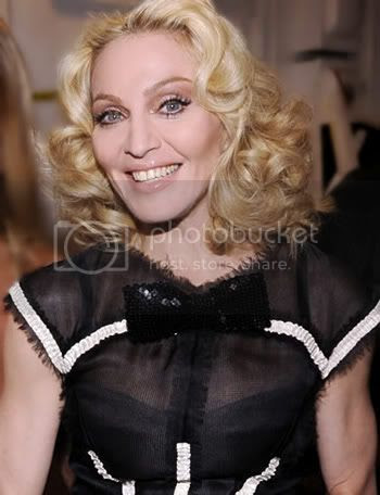 Madonna's scary smile