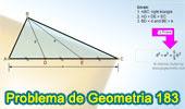 Problema de Geometría 183 (ESL): Triangulo Rectángulo, Trisección de la Hipotenusa, Cevianas, Relaciones Métricas.