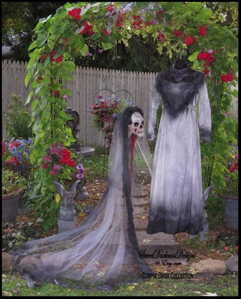 CORPSE BRIDE DRESS Tim Burton Wedding Dress Vampire Ghost