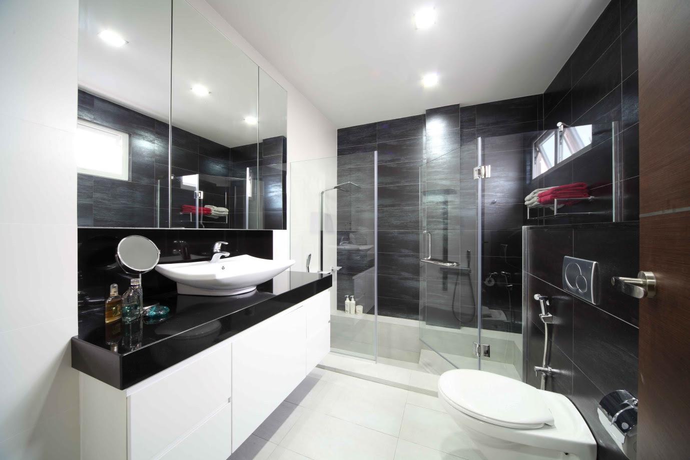 Landed Property Living Room Interior Design Singapore | Landed