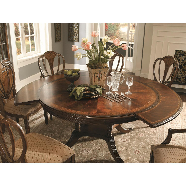 Universal Furniture Single Pedestal Kentwood Table by OJ Commerce