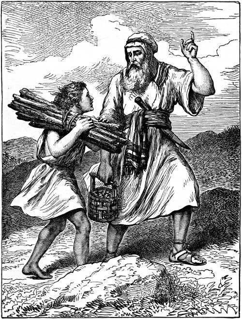 ABRAHAM AND ISAAC.