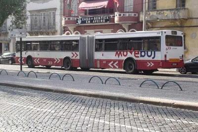 Autocarro da Moveaveiro, empresa municipal de transportes de Aveiro