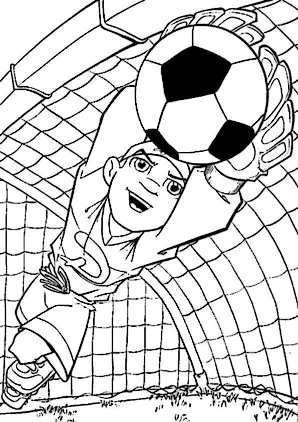 ausmalbilder fussball kostenlos drucken