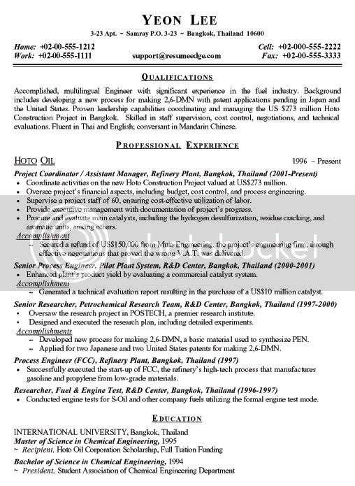 engineering resume offres d 39 emploi recrutement au maroc