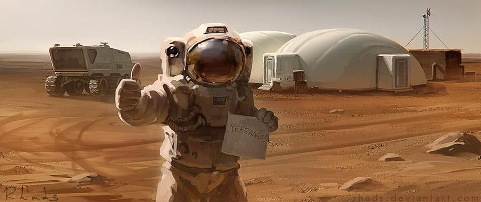 Мой любимый марсианин