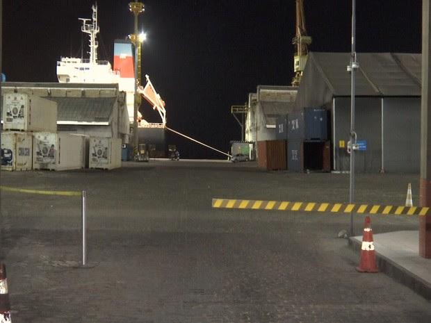 Navio saiu dia 15 de junho de Abidjan, na Costa do Marfim. (Foto: Reprodução/TV Verdes Mares)