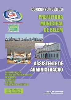 Prefeitura Municipal de Belém-PA-ASSISTENTE DE ADMINISTRAÇÃO