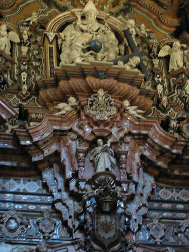 Detail in Church, Granada