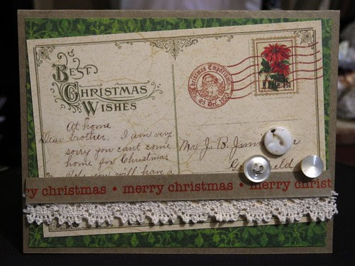 Postcard Christmas