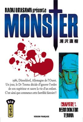 Couverture Monster, tome 01 : Herr Doktor Tenma
