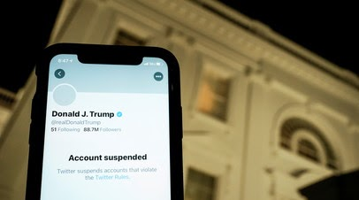 CNN: Twitter намерен пресекать попытки Трампа обойти блокировку