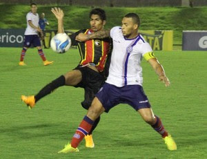 Índio Oliveira - Globo FC x Bahia (Foto: Fabiano de Oliveira)