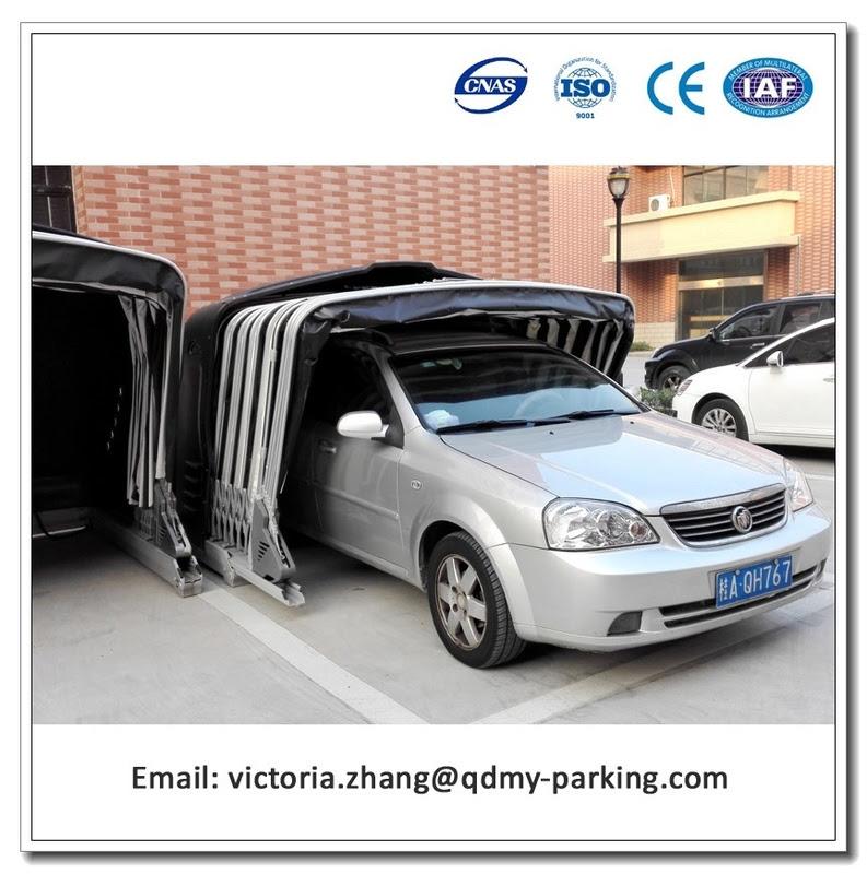 Solar Powered Retractable Car Garage Portable Car Shelter ...