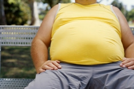 Una persona obesa.   The Lancet