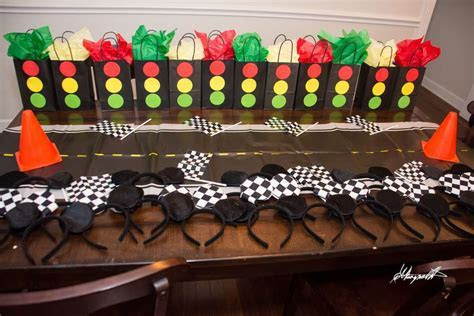 Mickey Mouse Roadster Racer Birthday Party Ideas   Photo 7