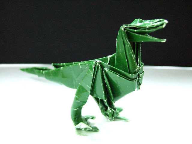 Deinonychus Origami