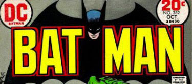 Batman #252 logo