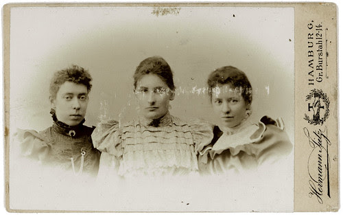 cdv three women