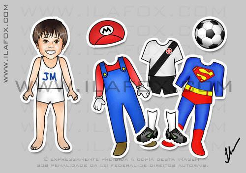 lembrancinha original imã, meninos, super heróis, super homem, mario bros, uniforme vasco, by ila fox