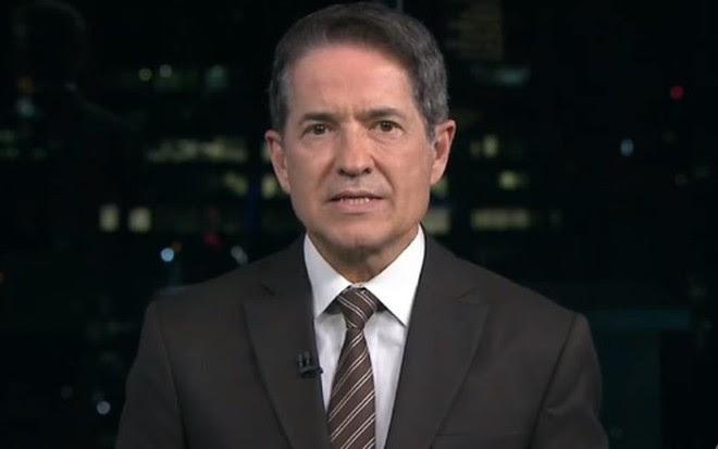 Carlos Tramontina no SP TV 2ª Edição de sábado (26), o último que apresentou - Reprodução/TV Globo
