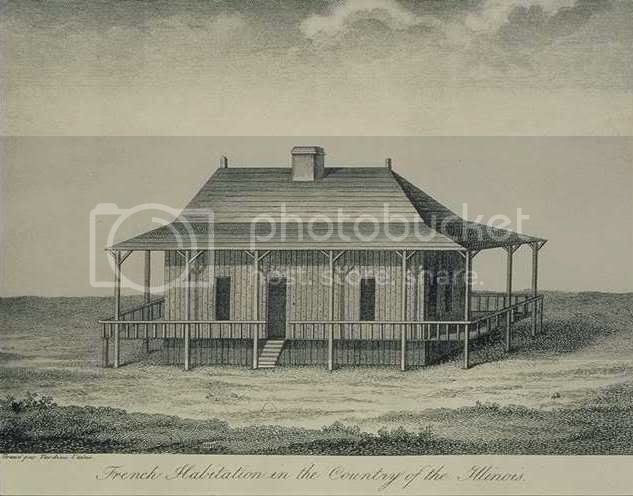 early Illinois house
