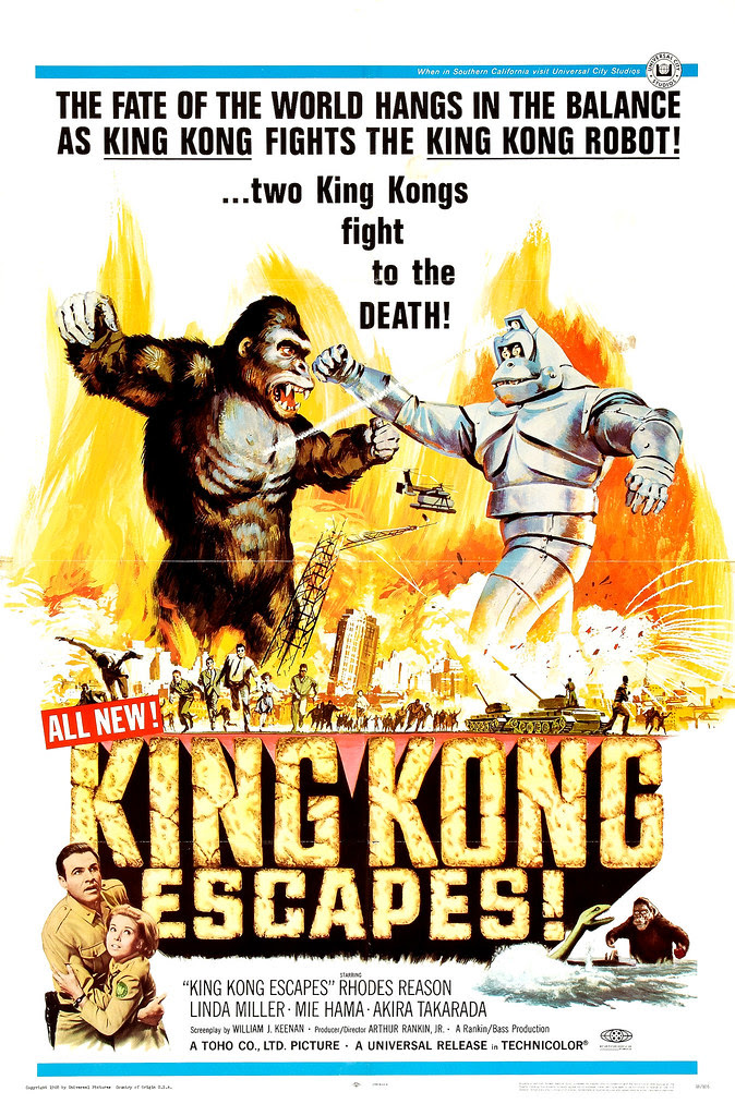 Reynold Brown - King Kong Escapes (Universal, 1968)