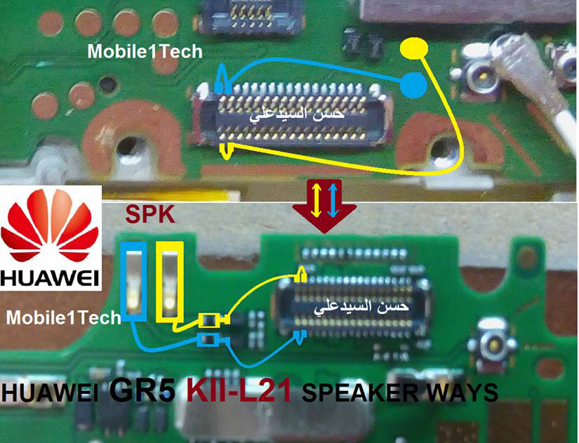 Huawei GR5 Speaker Solution Jumper Problem Ways Earpeace