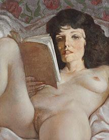 El retrato de Joan Collins por Currin.