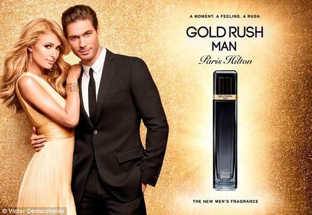 Outra para a prateleira: Fevereiro marca o lançamento da fragrância de Paris 21 - Gold Rush Man - que atualmente é vendido por US $ 55 na Perfumania