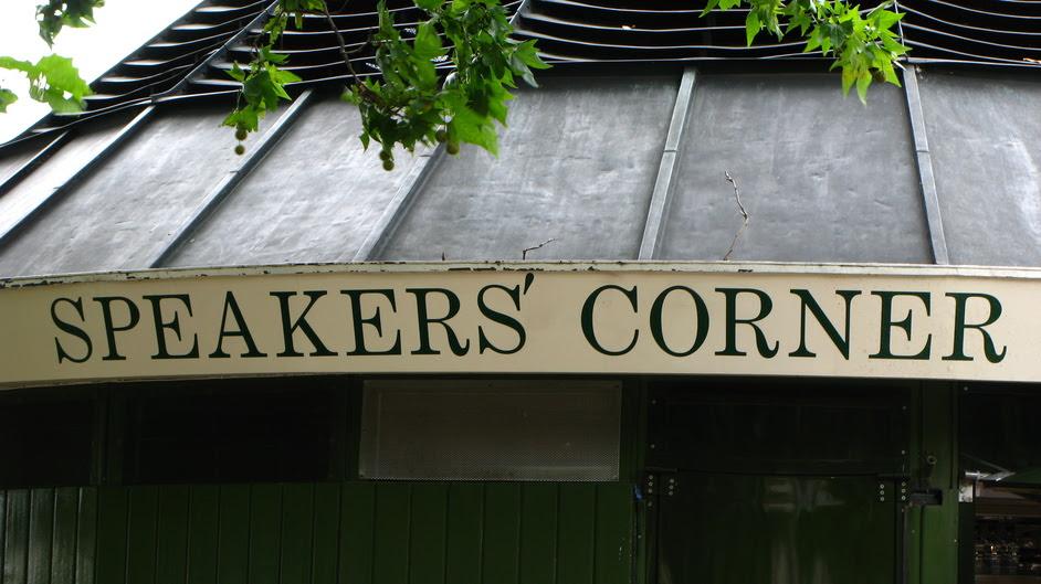 Image result for speaker corner london