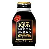 Roots ルーツ アロマブラック ボトル缶 285g×24本