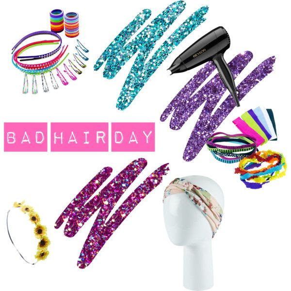 """bad hair day"" by liza-yamilet on Polyvore"