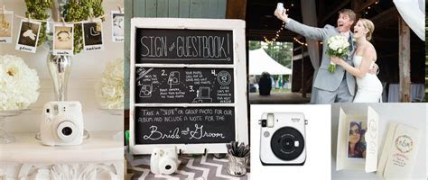 10 Ways To Use Instax Cameras At Your Wedding   Rustic