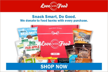 Save $5 on any Love With Food plans over $30 and get a $40 bonus and a magazine.
