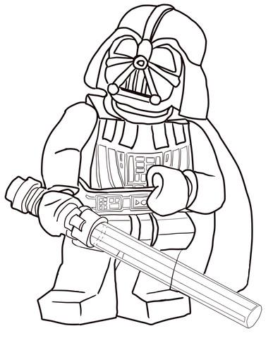 Dibujos De Lego Para Colorear Dibujoswikicom