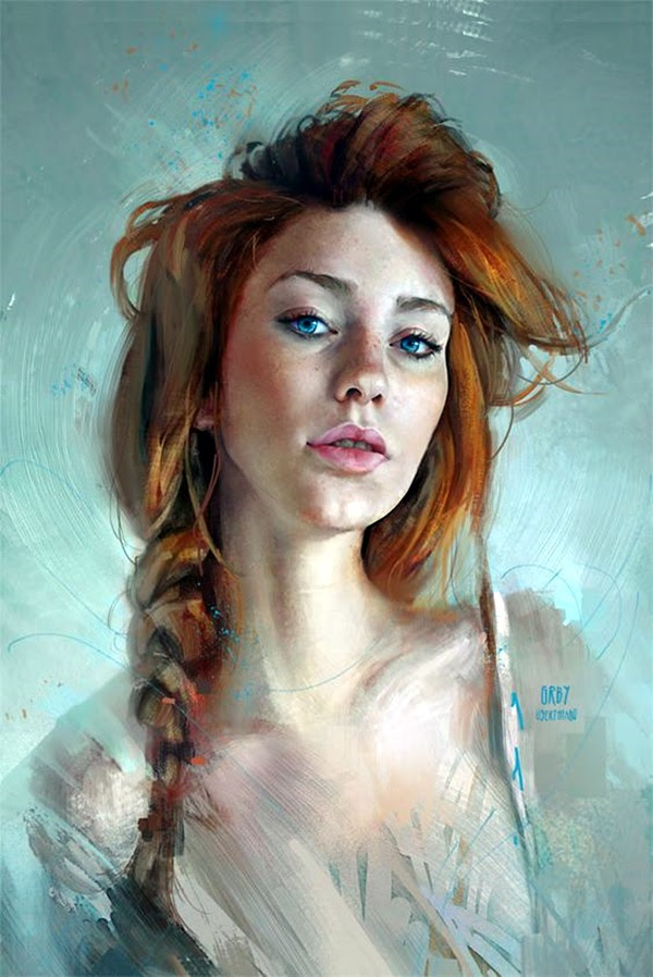 Spectacular Digital Painting Portraits (7)