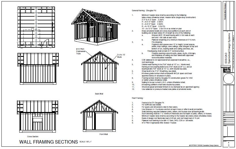 Storage Shed 10x14 Shed Plans Pdf
