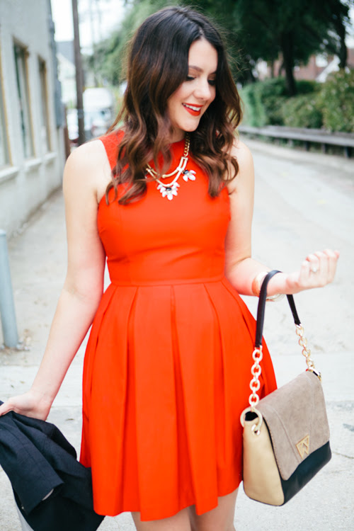 Seven Go To Dresses Every Woman Should Own, A-line dress in red