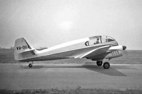 web12a Aero Sokol VH-DUA Rhoose Rally 1960