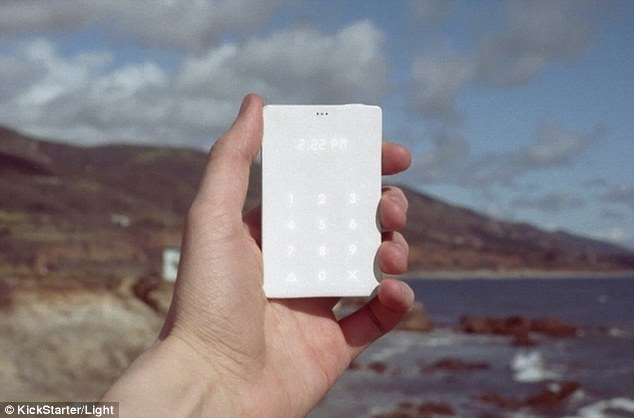 A New York-based team has created the Light Phone – a device which they claim is the 'anti-smartphone'