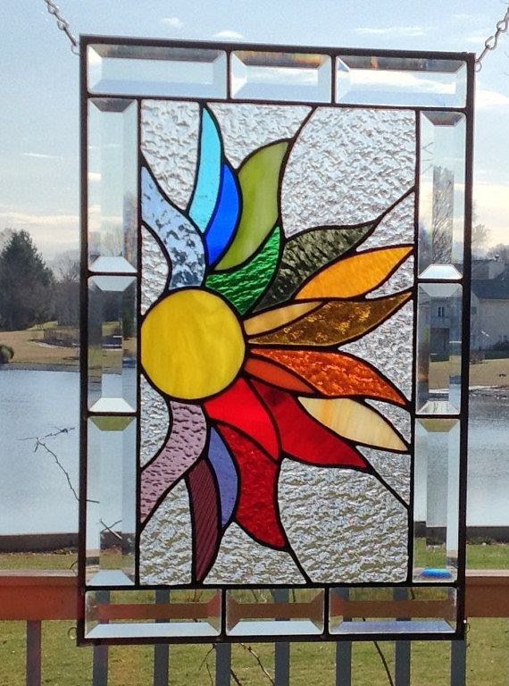 How To Make Stained Glass Windows Mosaic Is Hanging Inspiration