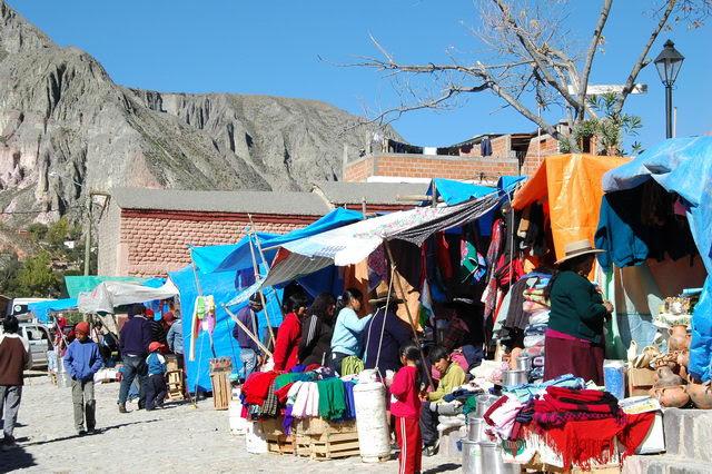 Village de Iruya au nord est de Humahuaca