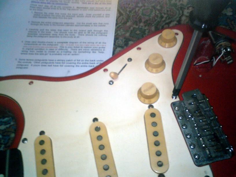 Chupacabra  Squier Stratocaster Wiring Diagram