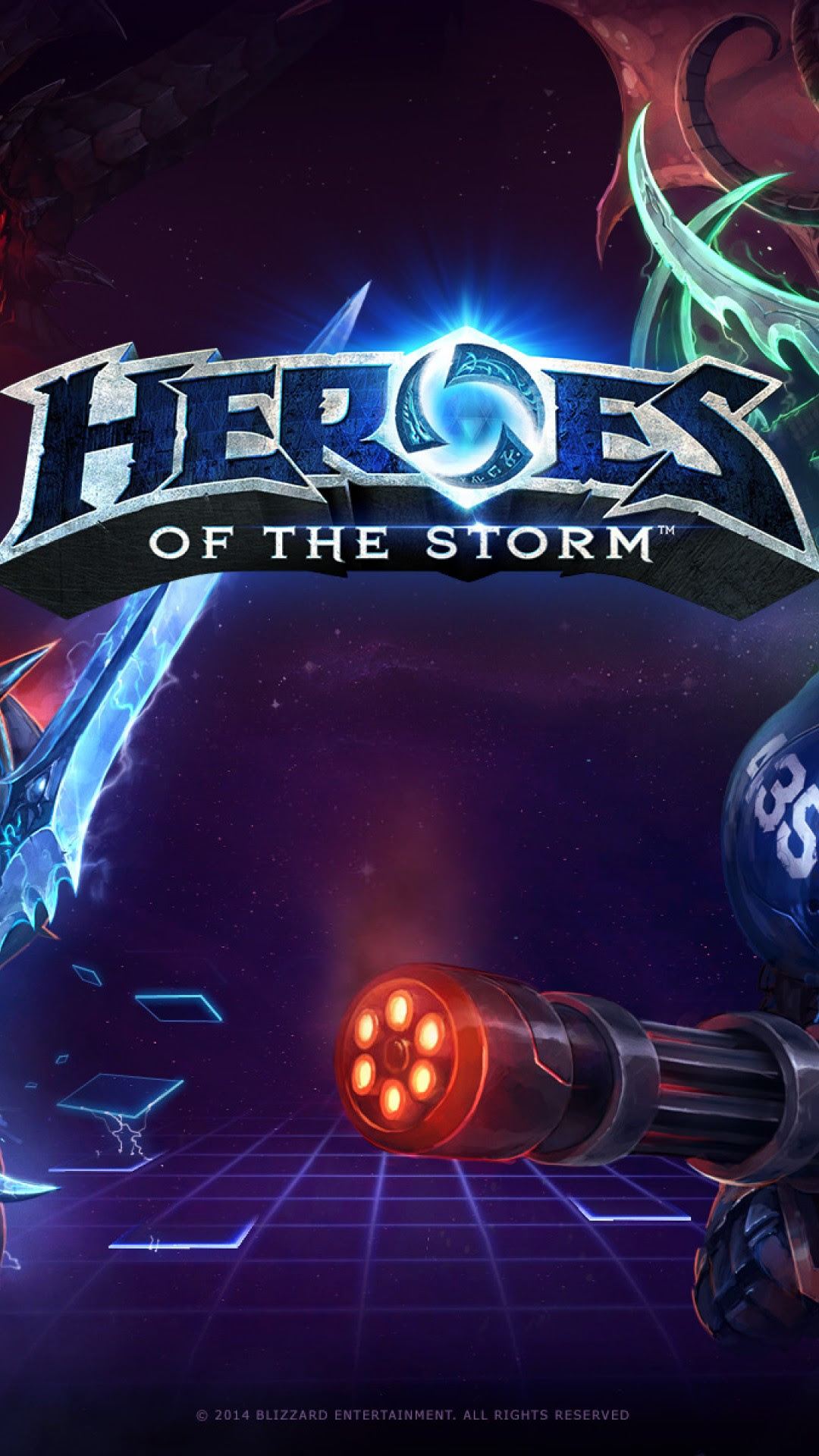 Heroes Of The Storm Hd Wallpaper For Desktop And Mobiles Iphone 6