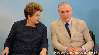 Dilma com Temer na cerimônia entrega do imóvel 1 milhão do Programa Minha Casa, Minha Vida, em Brasília
