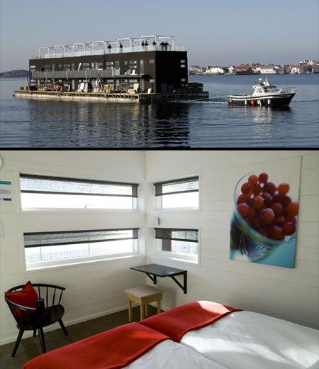 Floating Hotel in Sweden